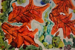 Maples Alcohol Ink Art