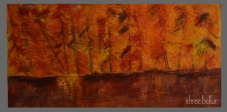 Serenity 12x24 inches Oil & cold beeswax on wood