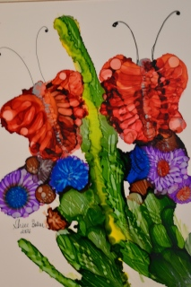 Garden Ink Art