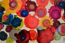 Marigold Abstract Ink Art