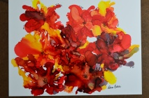 Emotions Alcohol Ink