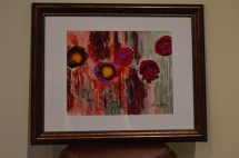 SOLD POPPIES ABSTRACT
