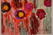 POPPIES ABSTRACT