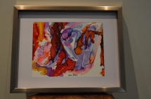 Abstract Watercolor & Alcohol Ink